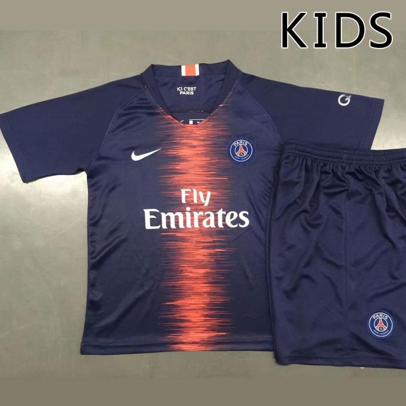 KIDS PSG 2018-19 Home Kits