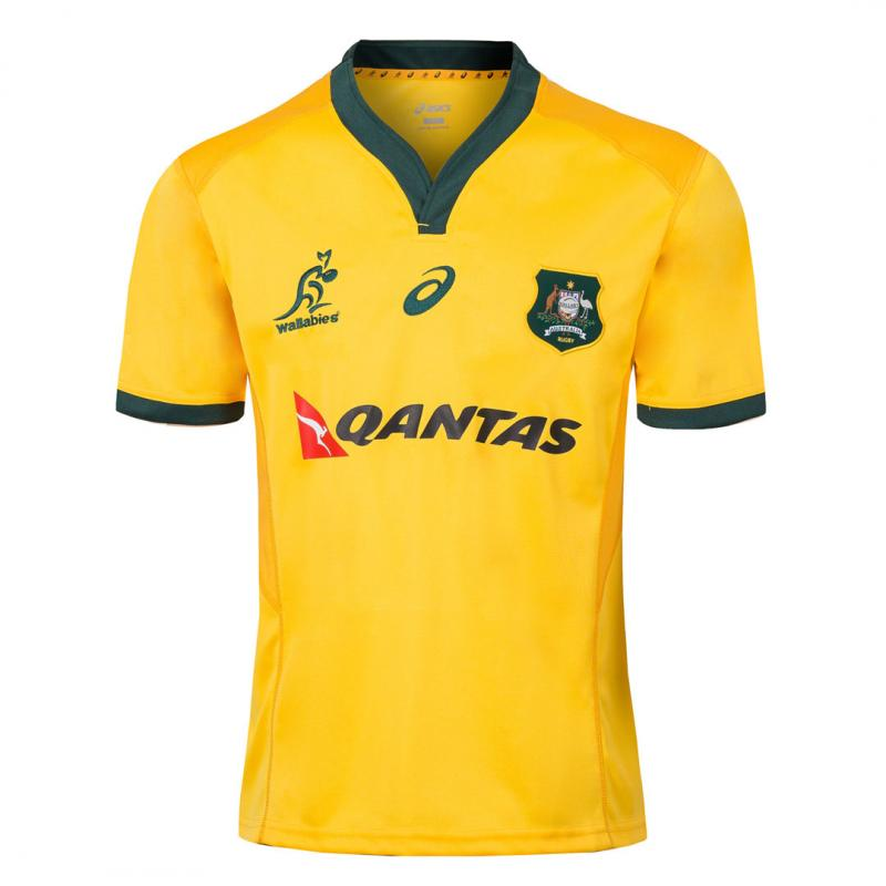 Australia 2018-19 Home Rugby Jerseys