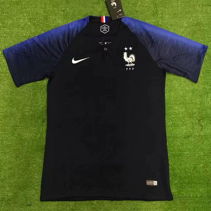 France 2018-19 Home Soccer Jersey