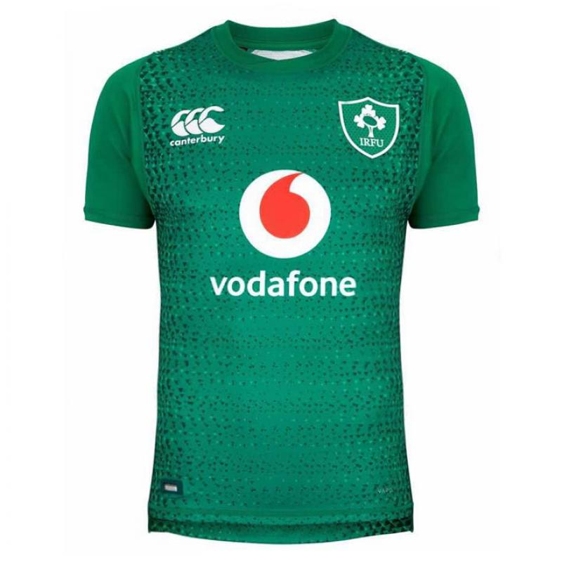 Ireland 2018-19 Home Rugby Jerseys