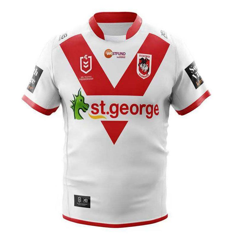 St. George Illawarra Dragons 2019-20 Rugby Jersey