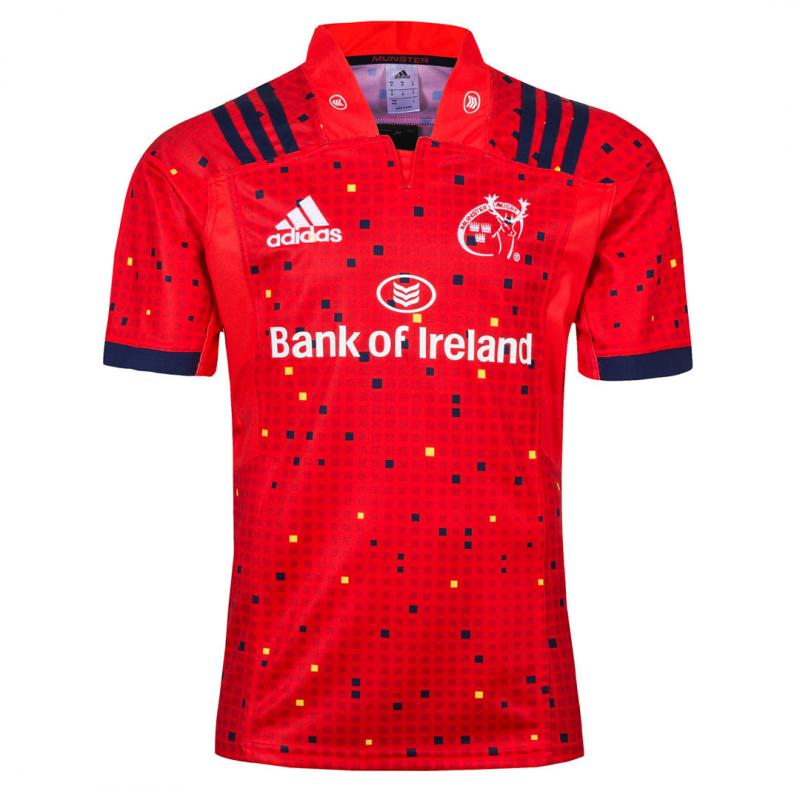 Munster 2018-19 Home Rugby Jersey