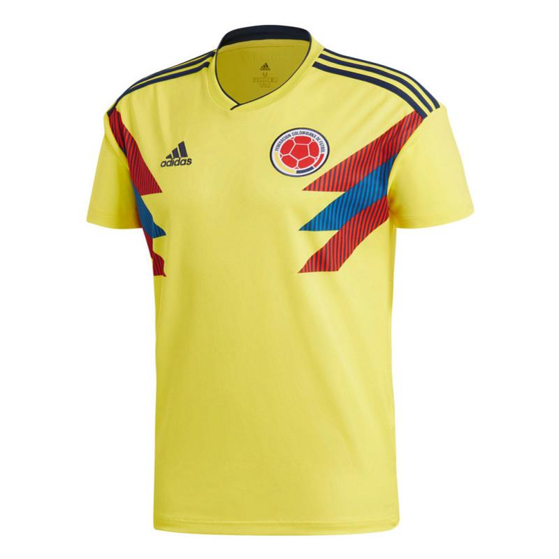 Colombia 2018 World Cup Home Soccer Jersey Shirt