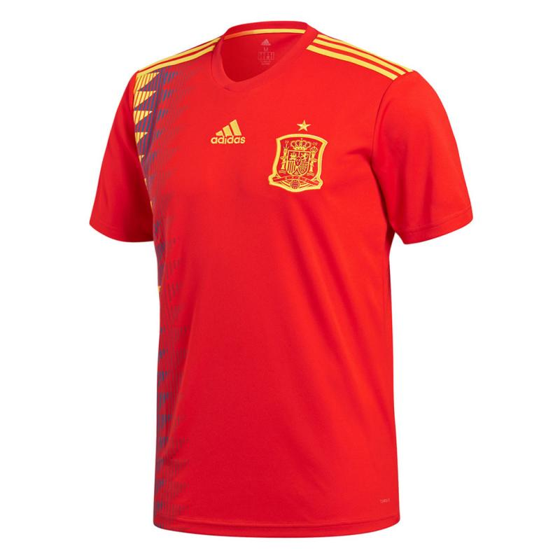 Spain 2018 World Cup Home Soccer Jersey Shirt