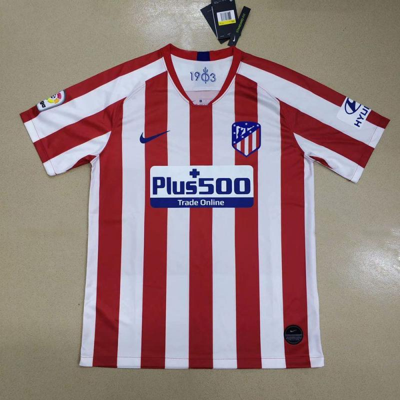 Atletico Madrid 2019-20 Home Soccer Jersey