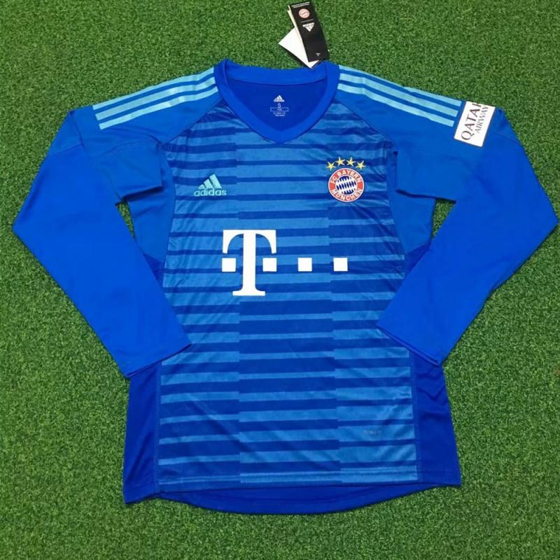 Bayern Munich 2018-19 Goalkeeper Long sleeves Jersey