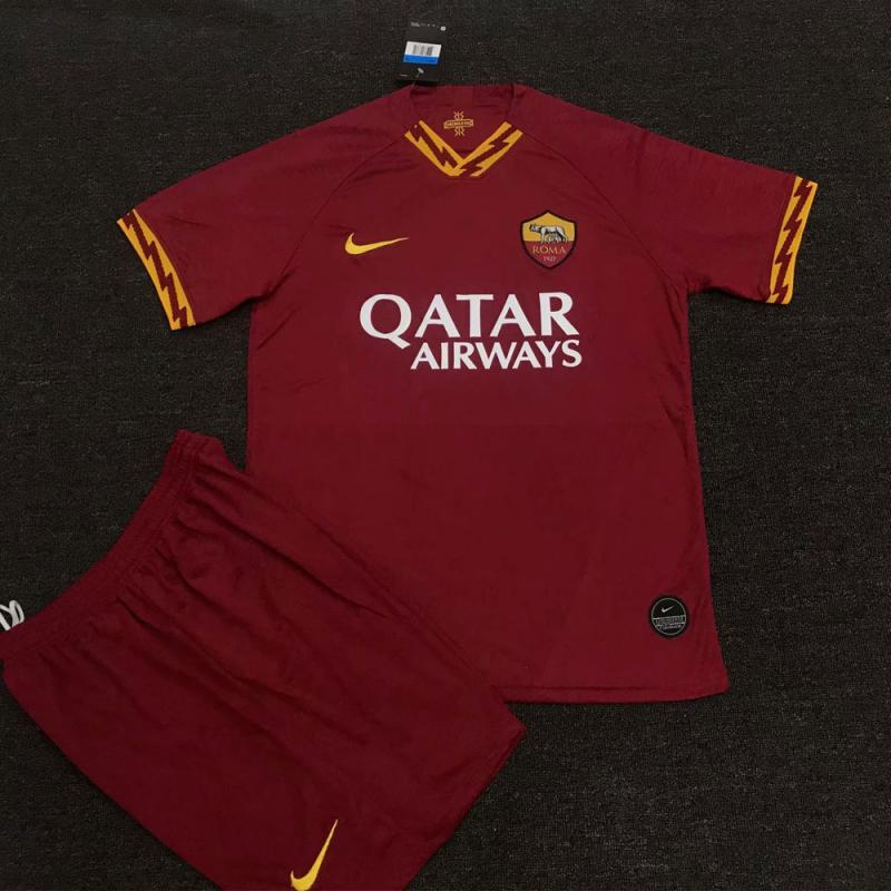 Roma 2019-20 Home Shirt Soccer Jersey Kits