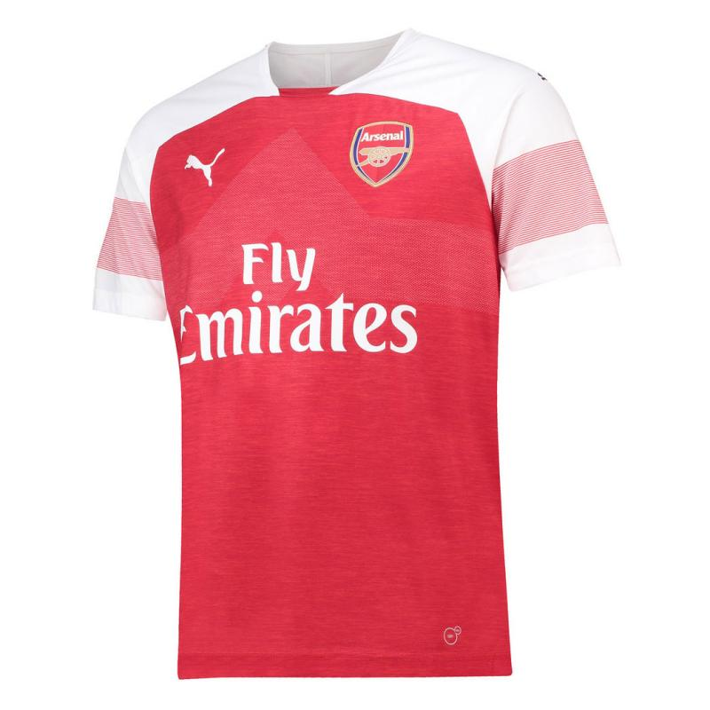 Arsenal 2018-19 Home  Shirt Soccer Jersey