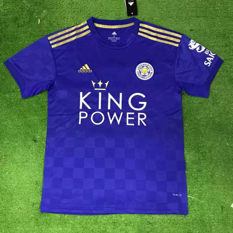 Leicester City 2019-20 Home Soccer Jersey