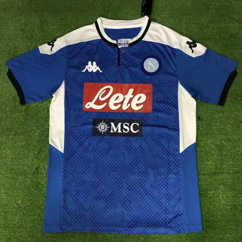 Napoli 2019-20 Home Soccer Jersey