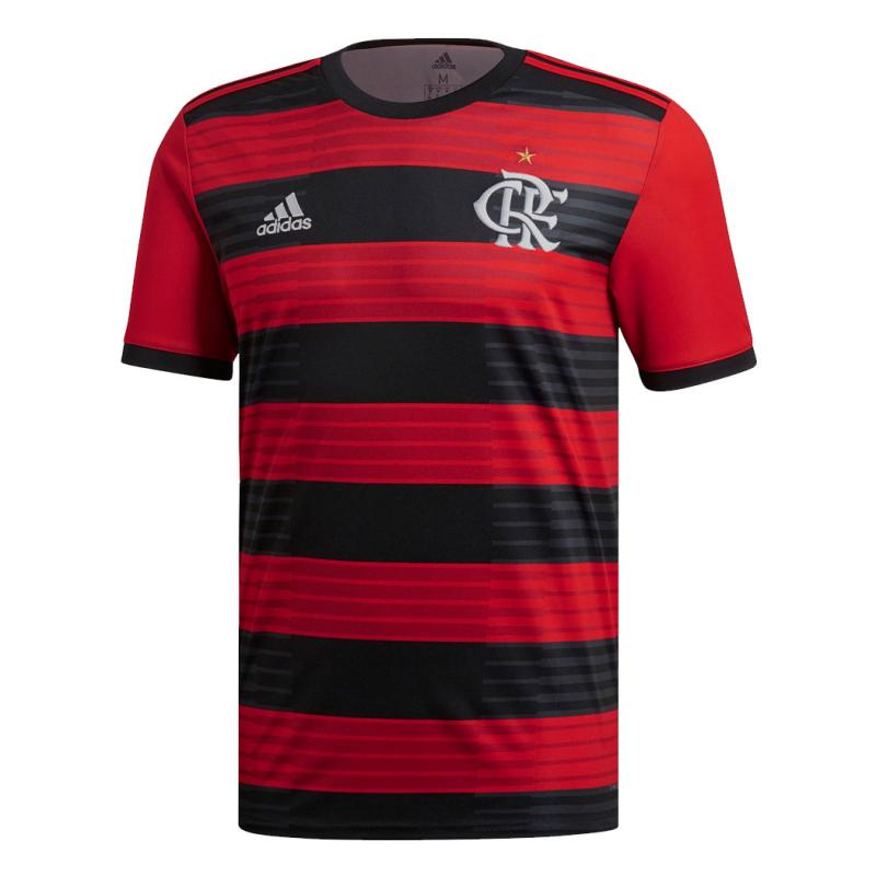 Flamengo 2018-19 Home  Shirt Soccer Jersey
