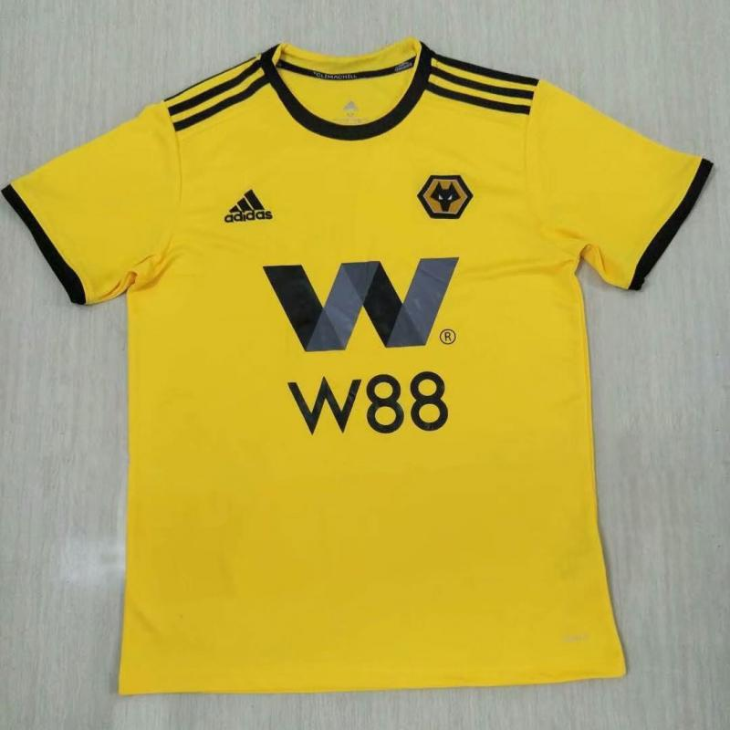Wolves 2018-19 Home Soccer Jersey