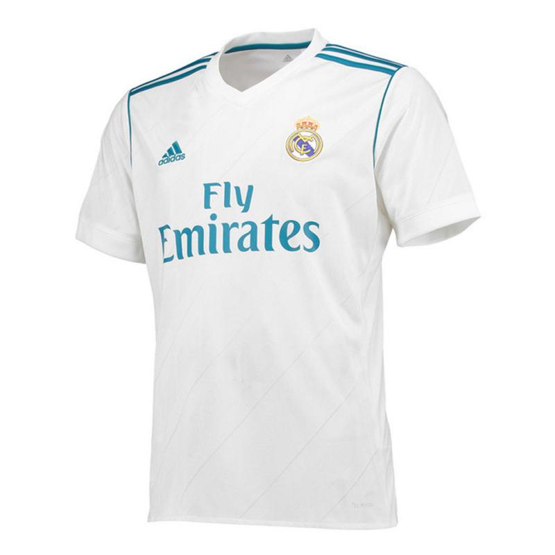 Real Madrid 2017/18 Home Soccer Jersey Shirt