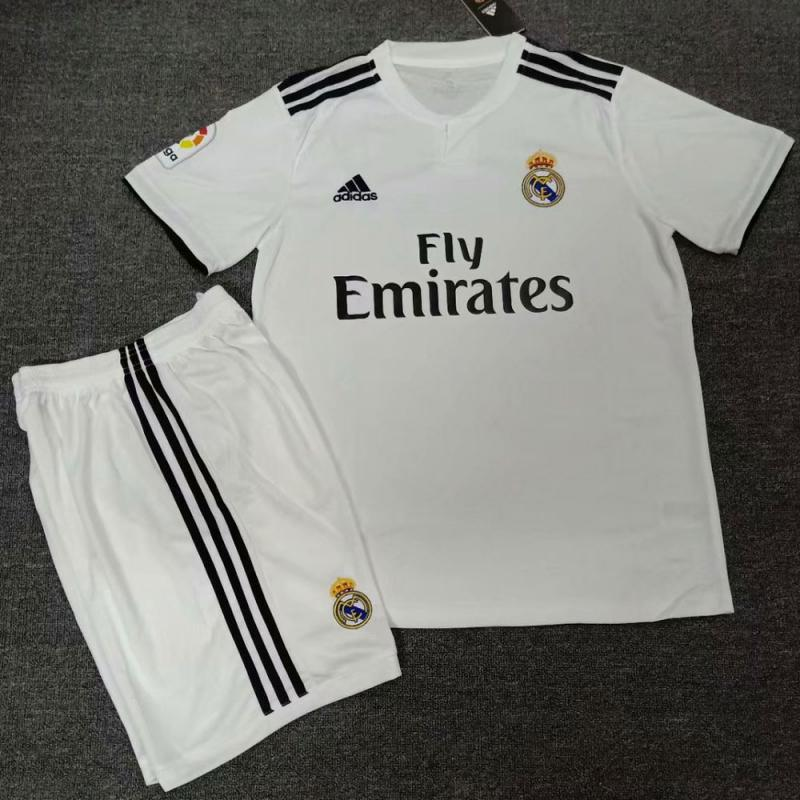 Real Madrid 2018-19 Home Jersey Kits