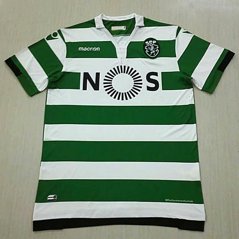 Sporting CP 2018-19 Home Soccer Jersey