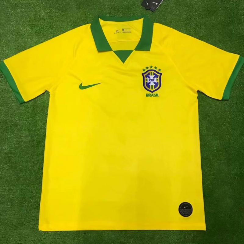Brazil 2019 New Home Soccer Jersey